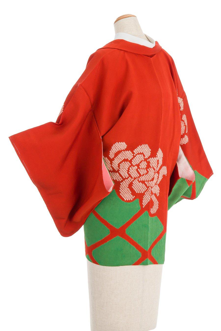 「絞り絵羽織 大輪の菊」の商品画像