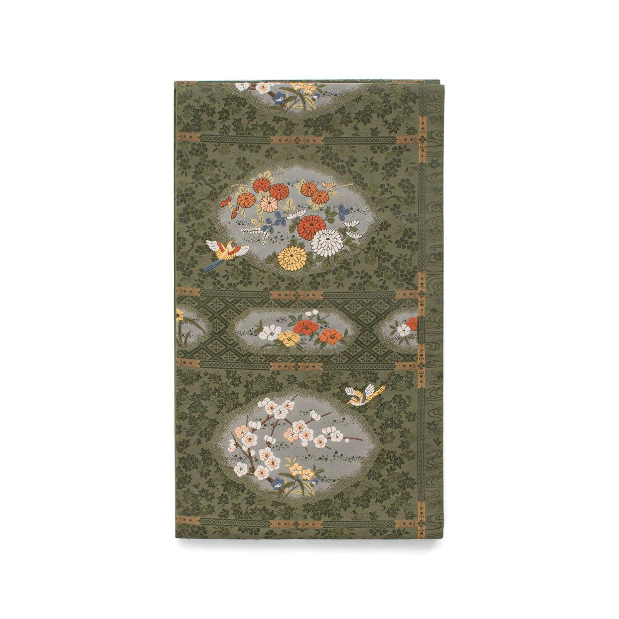 「袋帯●花と鳥」の商品画像