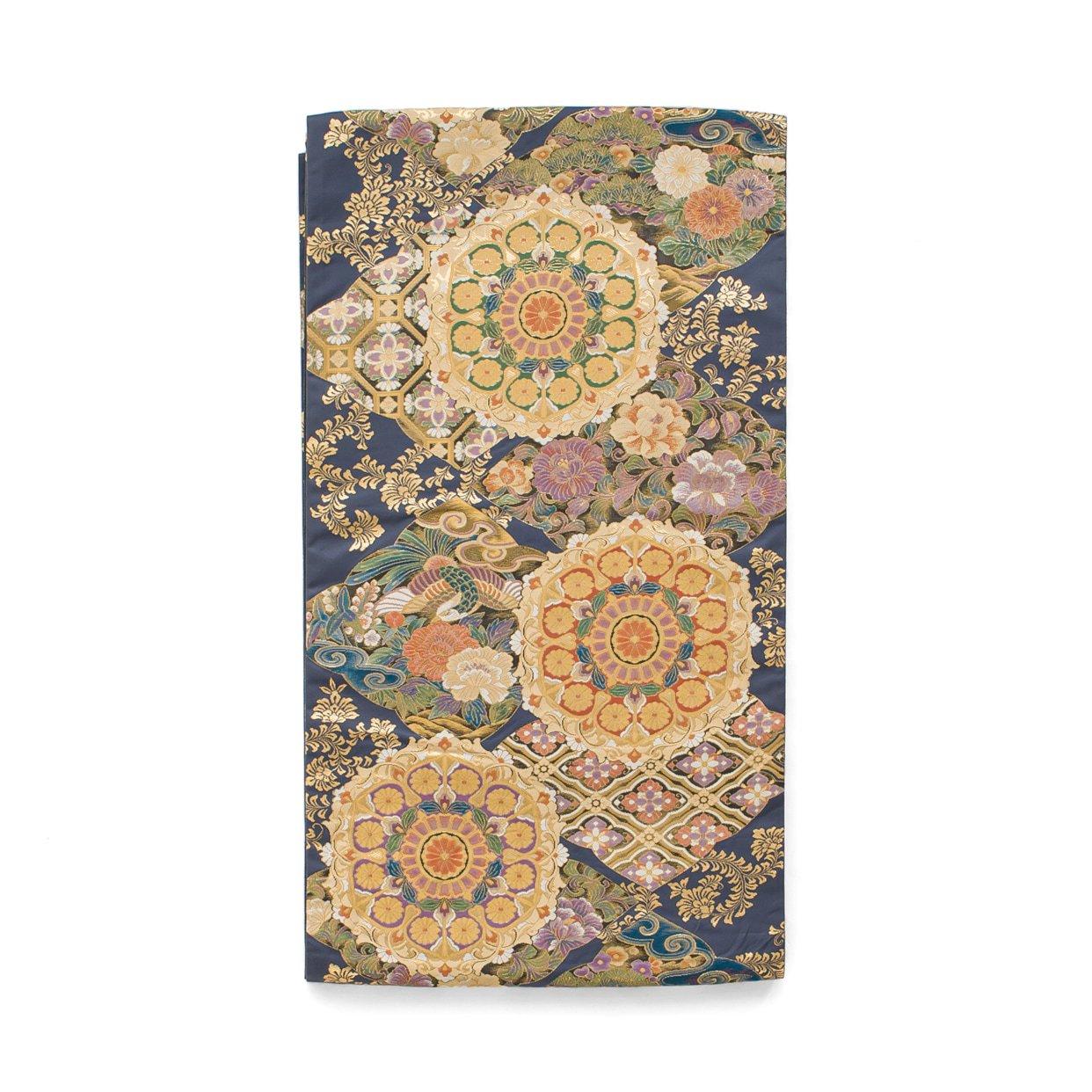 「袋帯●牡丹と鳳凰 大きな華紋」の商品画像