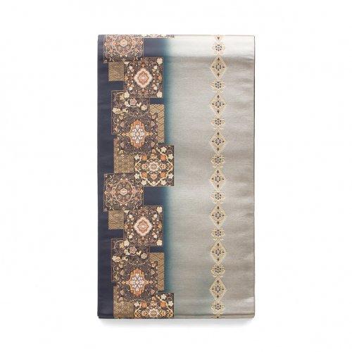 袋帯●華紋と菱繋ぎのサムネイル画像