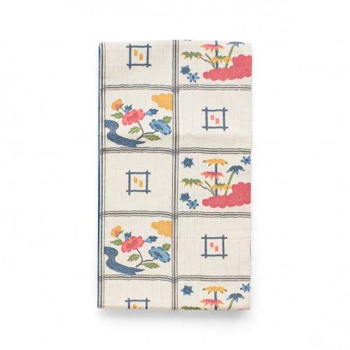 洒落袋帯●牡丹と笹のサムネイル画像