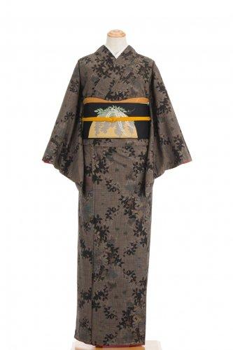 大島紬 葉の斜めラインのサムネイル画像