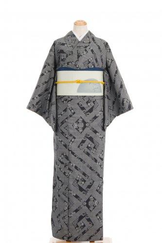 大島紬 渦巻きリボンのサムネイル画像