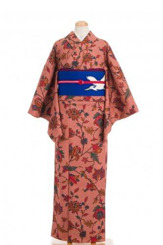 総絞り 更紗唐花模様のサムネイル画像