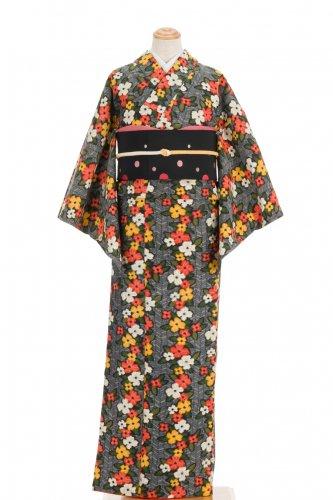 紬 三色花のラインのサムネイル画像