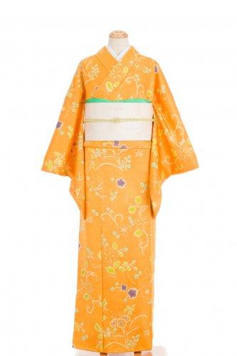 絞り 蜜柑色 花のサムネイル画像