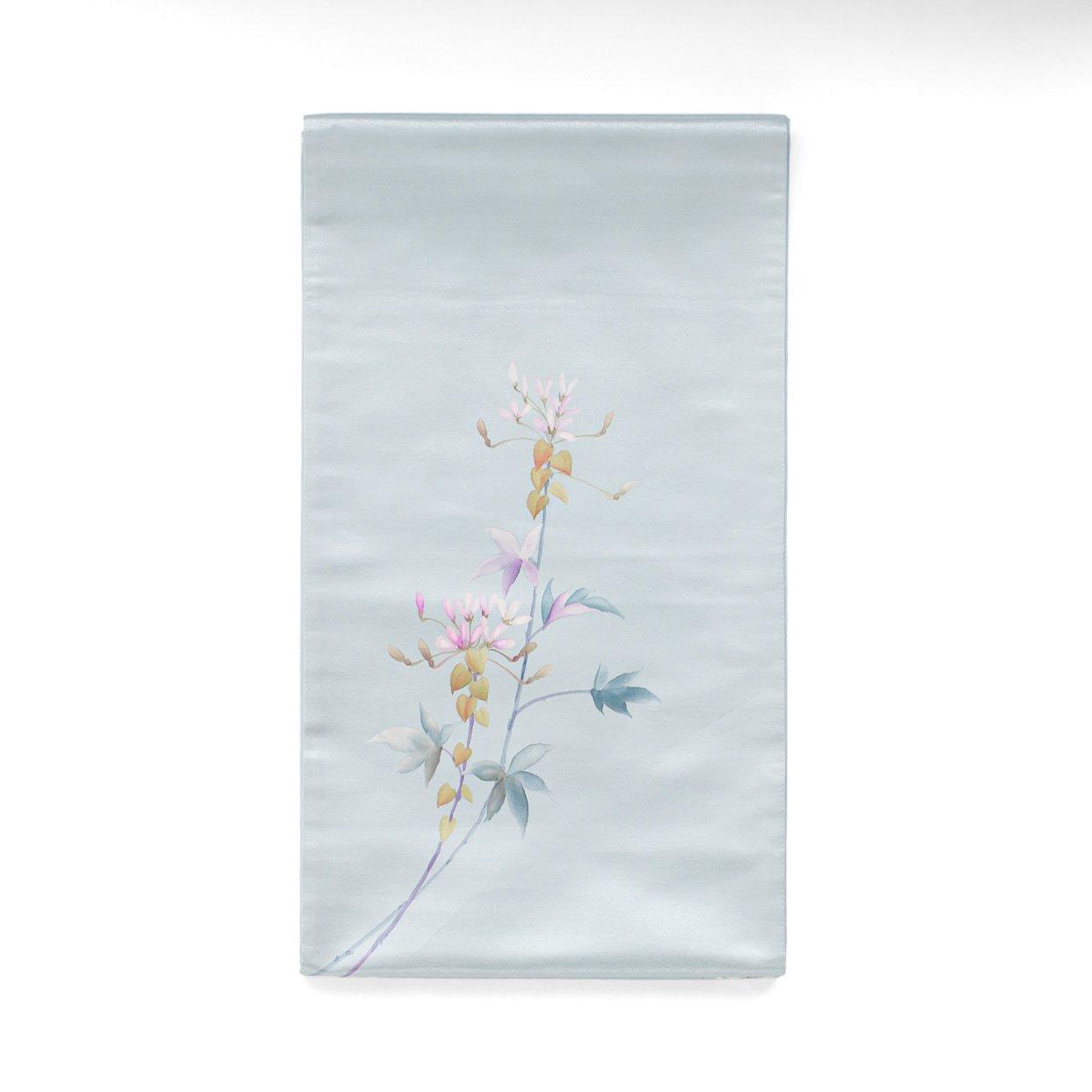 「袋帯●一色生子 ピンクの花」の商品画像