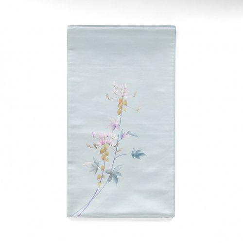 袋帯●一色生子 ピンクの花のサムネイル画像