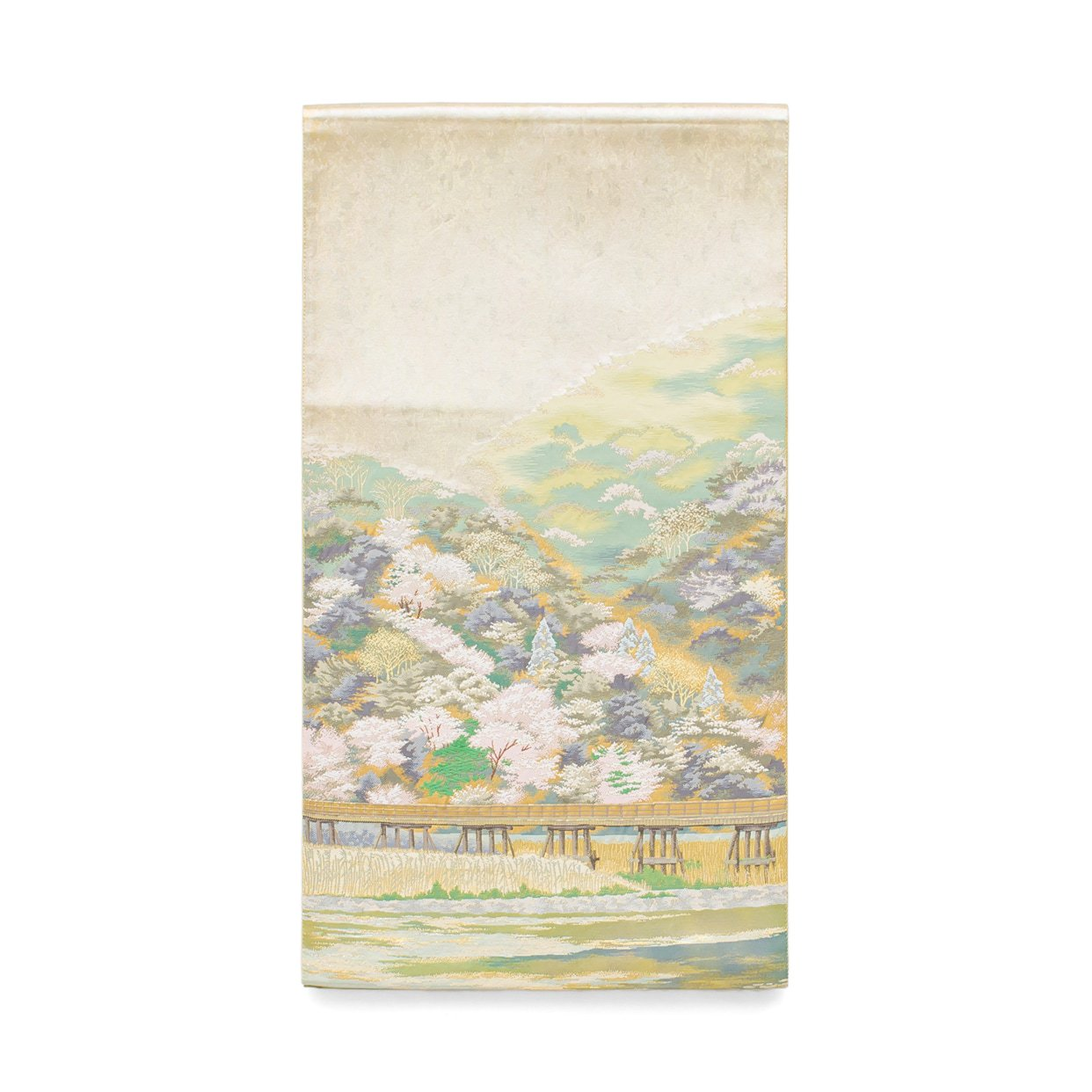 「袋帯●嵐山渡月橋」の商品画像