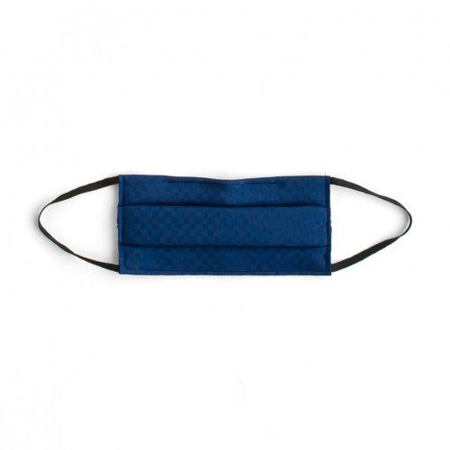 #04濃藍色 IRODORI SILK MASK 絹マスク 小杉織のサムネイル画像