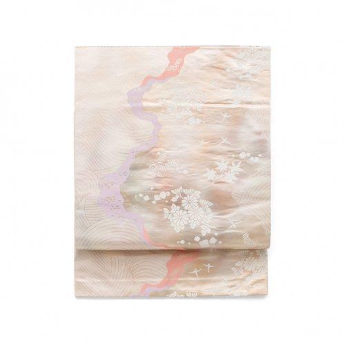 菊 紅葉と鳥のサムネイル画像