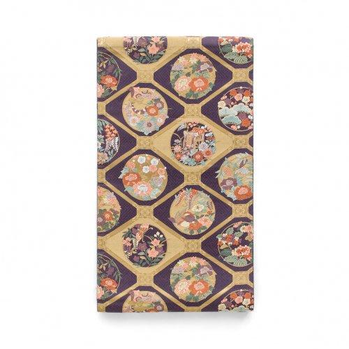 袋帯●格天井に花や鳥などのサムネイル画像