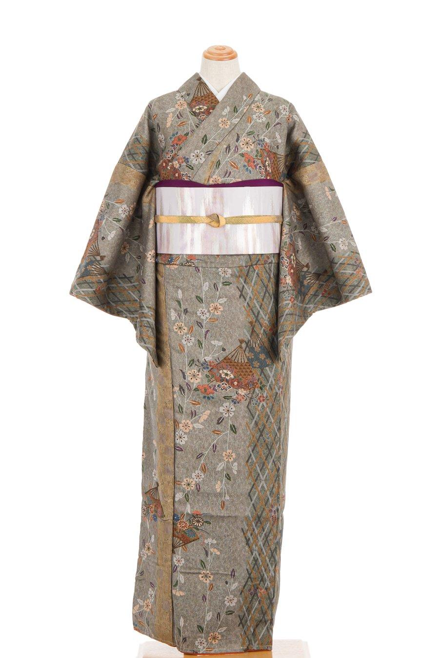 「扇と枝垂れ桜」の商品画像