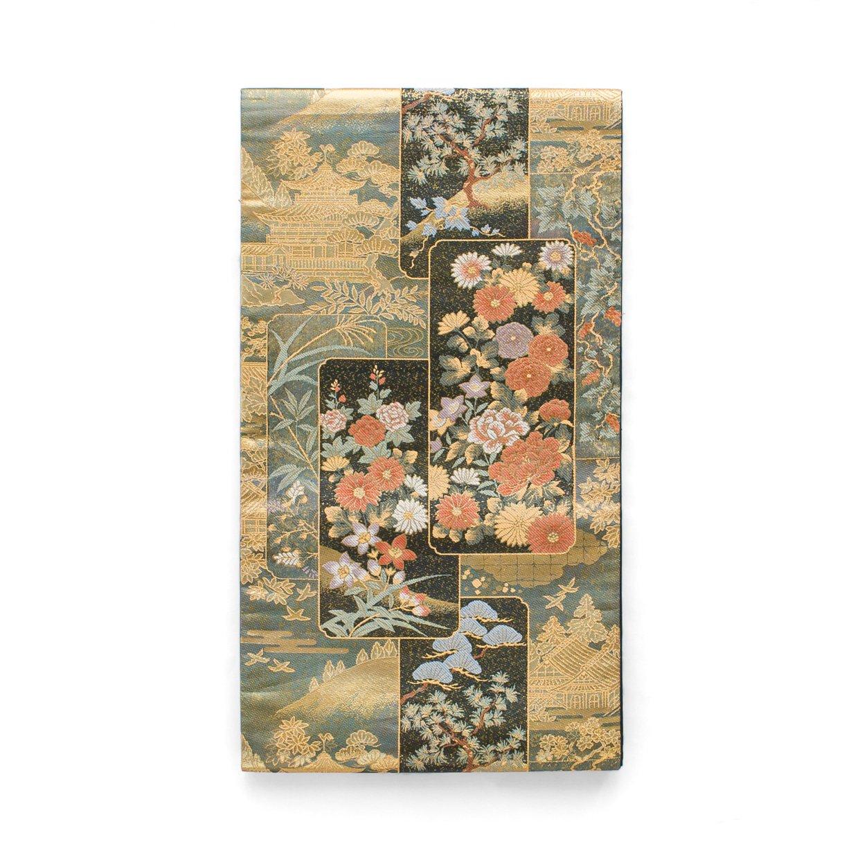 「袋帯●四季花短冊模様」の商品画像