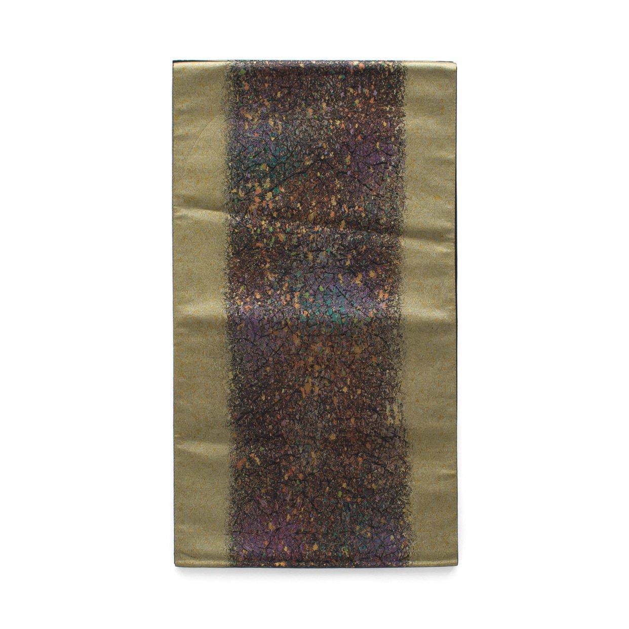 「袋帯●金のラインと煌めく箔」の商品画像