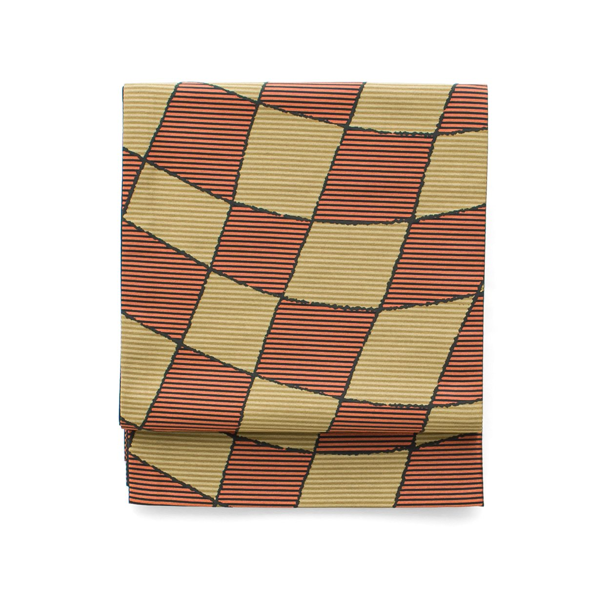 「京袋帯 変形市松」の商品画像
