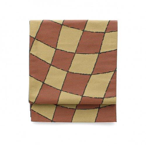 京袋帯 変形市松のサムネイル画像