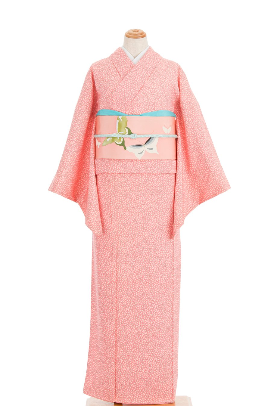 「ピンク地 白い小花」の商品画像