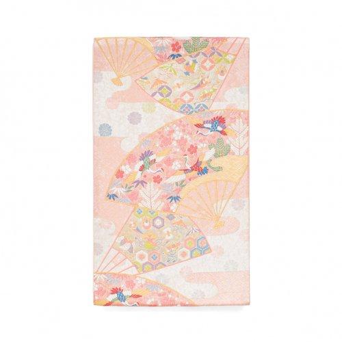 袋帯●扇に鶴や宝尽くし文様などのサムネイル画像