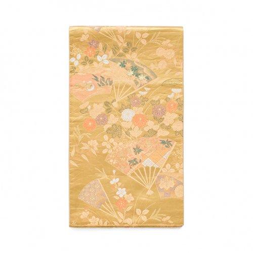 袋帯●扇に秋草や水鳥のサムネイル画像