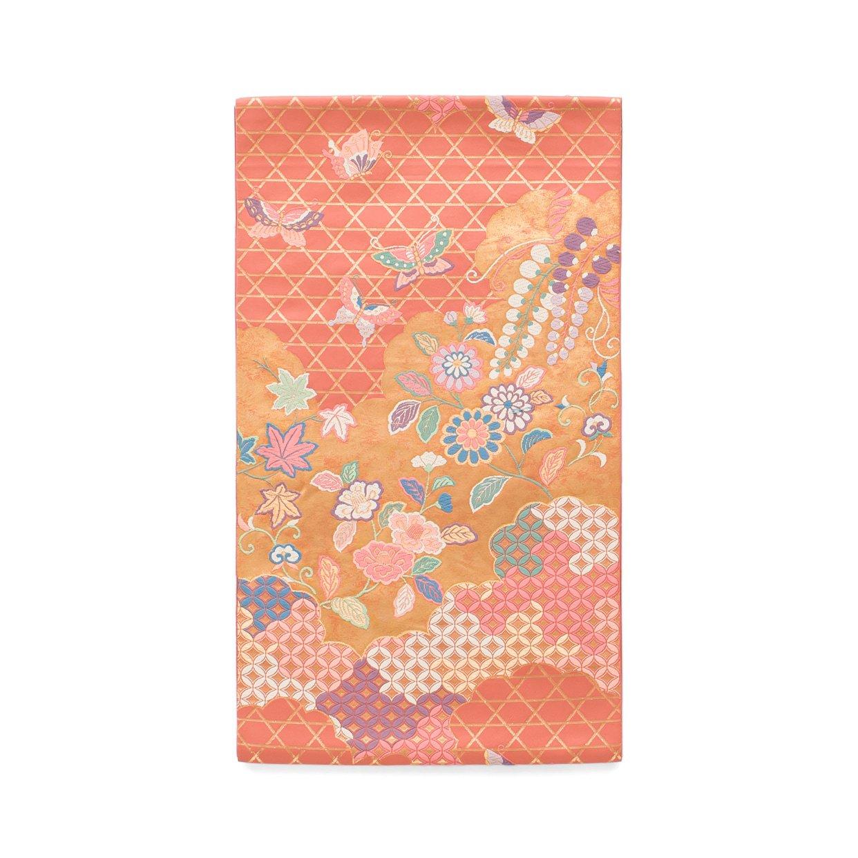 「袋帯●花に蝶」の商品画像