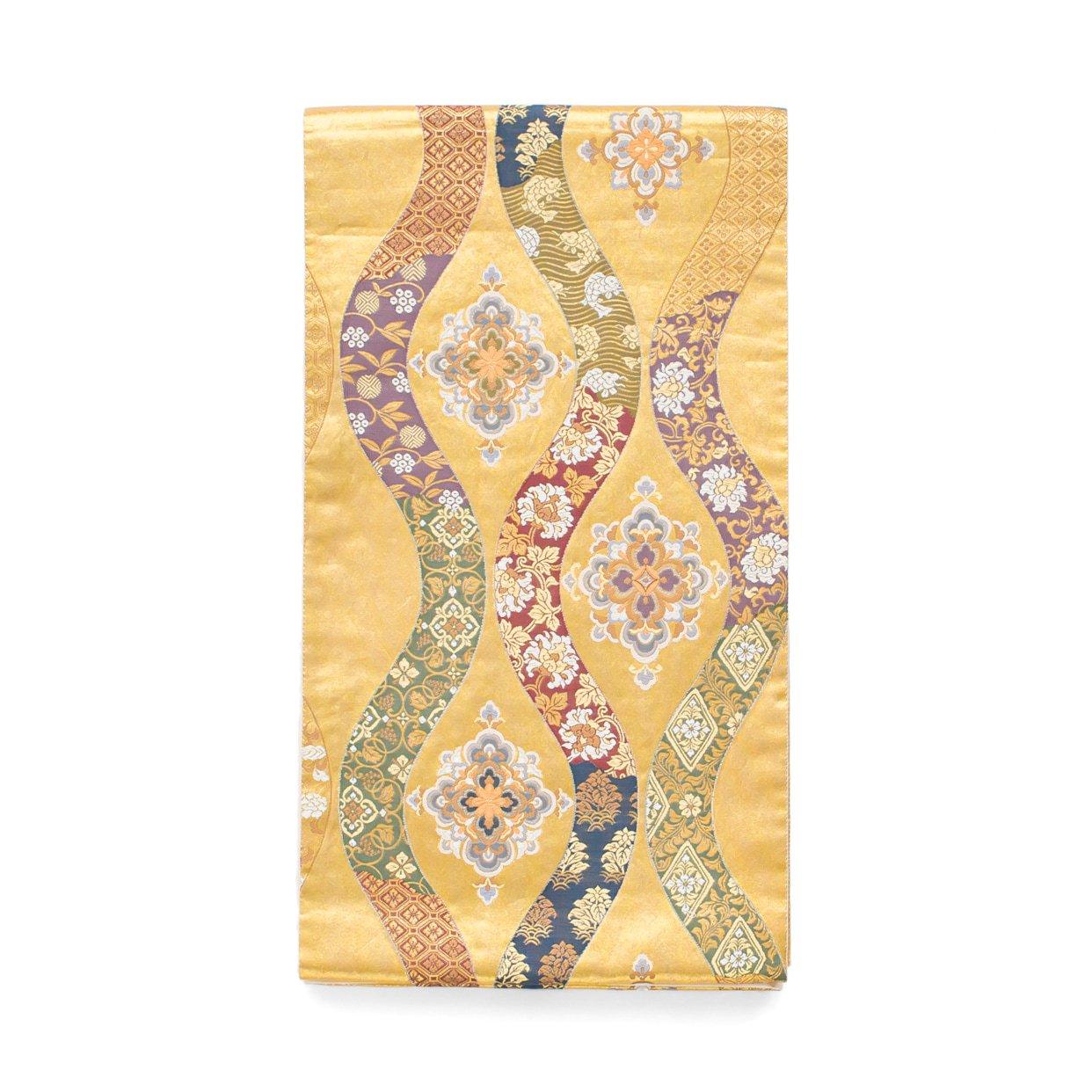 「袋帯●立涌に華紋」の商品画像