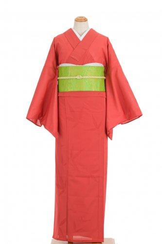 絽 紗紬 透かし織り 葉模様のサムネイル画像