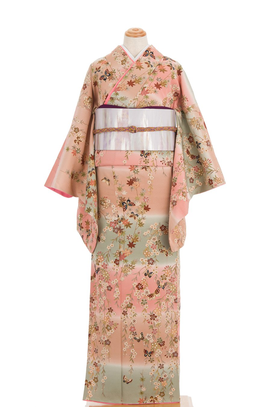 「横段暈しに桜と紅葉」の商品画像