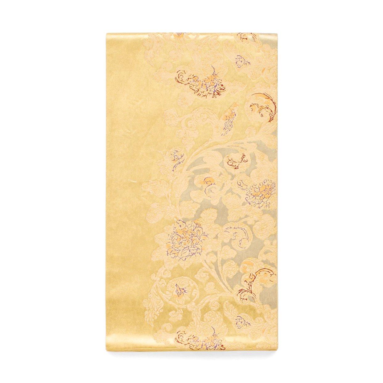 「袋帯●金唐花」の商品画像