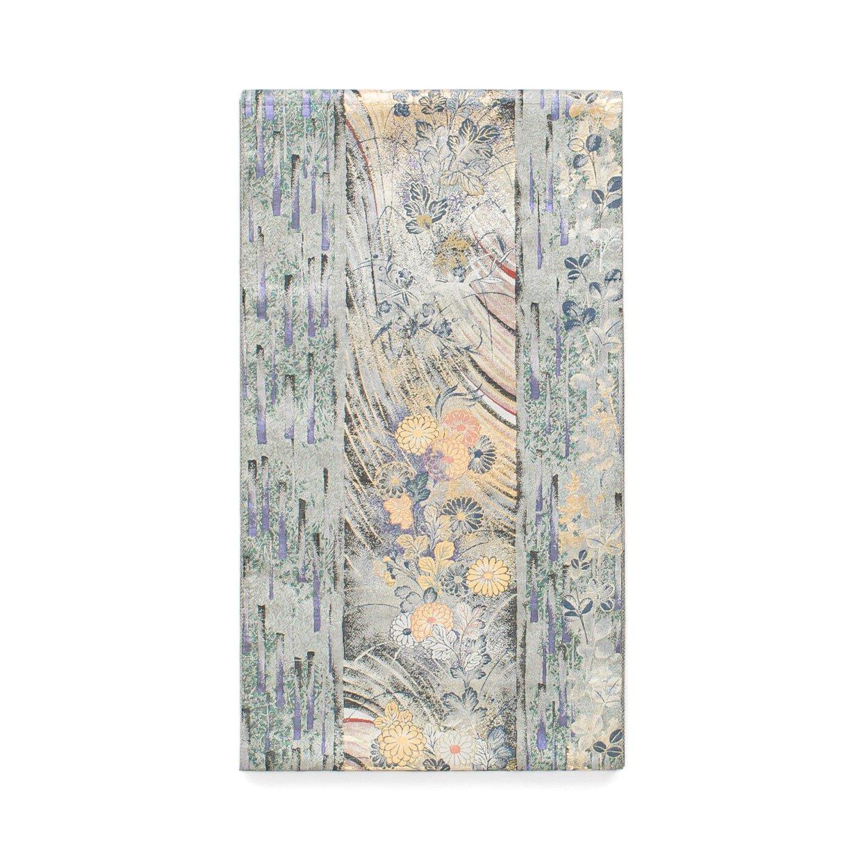 「袋帯●波に菊」の商品画像