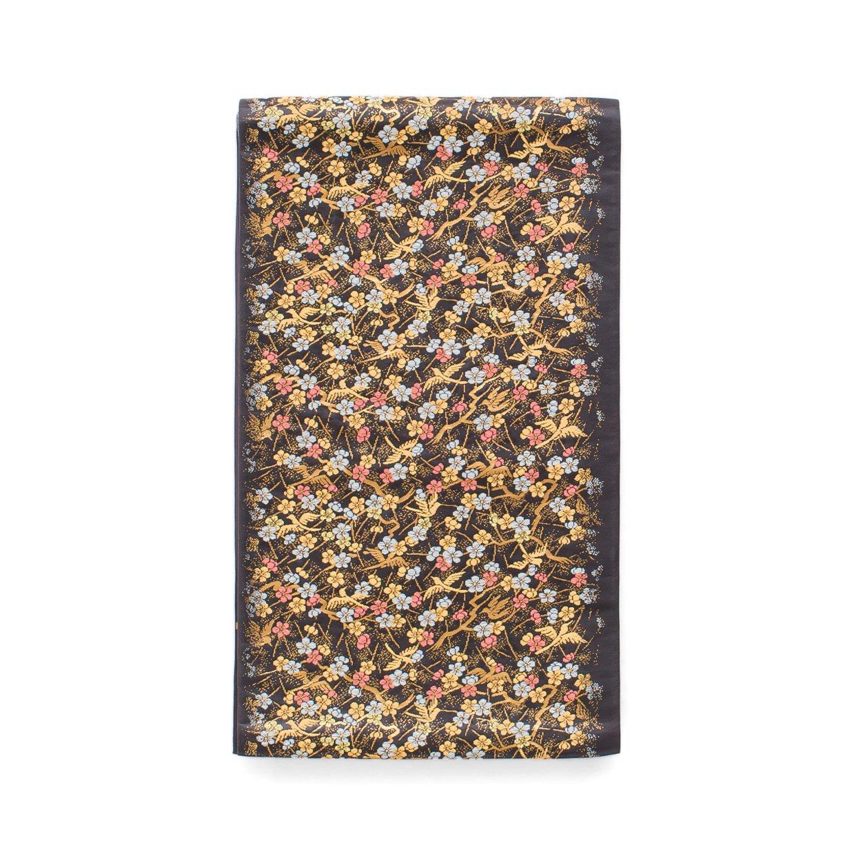 「袋帯●小鳥と梅の木」の商品画像
