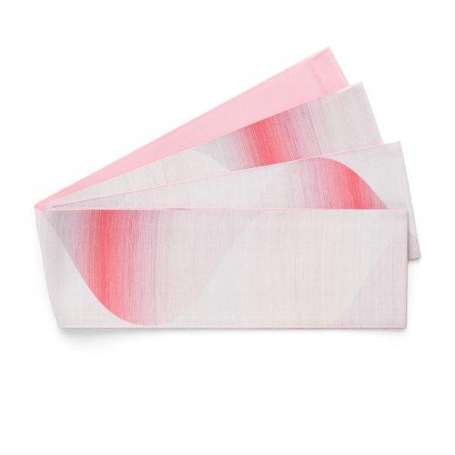 長尺半幅帯 曲線暈し ピンクのサムネイル画像