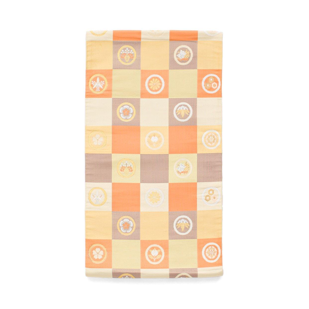 「袋帯●市松に丸紋」の商品画像