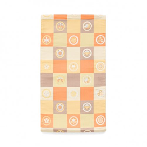 袋帯●市松に丸紋のサムネイル画像