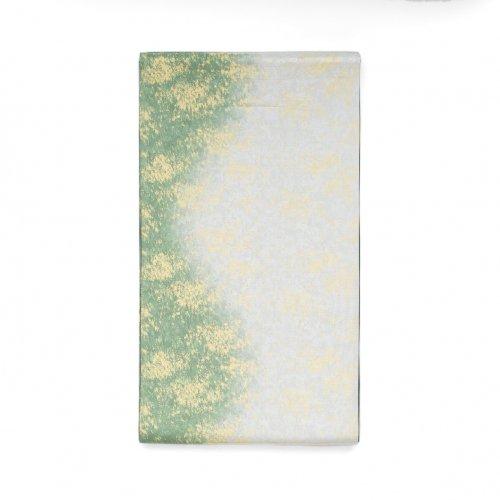 袋帯●緑と銀の霞のサムネイル画像