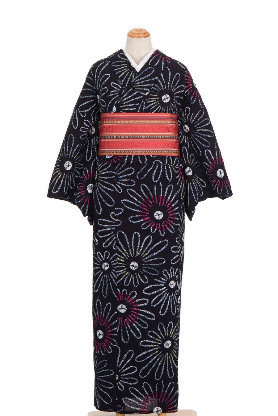 「絞りの浴衣 菊」の商品画像