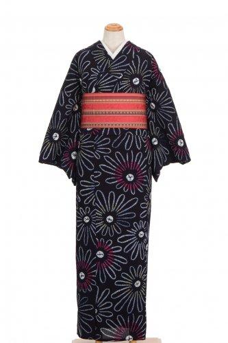 絞りの浴衣 菊のサムネイル画像