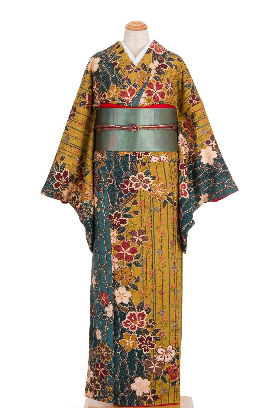 「桜と椿 裄長」の商品画像