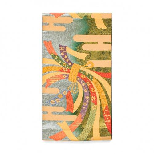 袋帯●ヱ霞に束ね熨斗のサムネイル画像