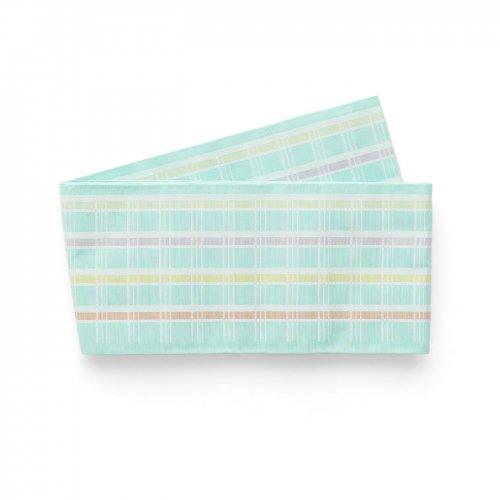 博多小袋帯 ミントグリーン 格子のサムネイル画像