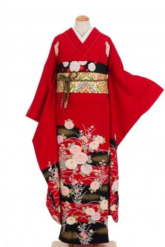 振袖 霞に菊花 のサムネイル画像