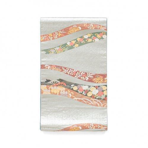 袋帯●熨斗に四季柄のサムネイル画像
