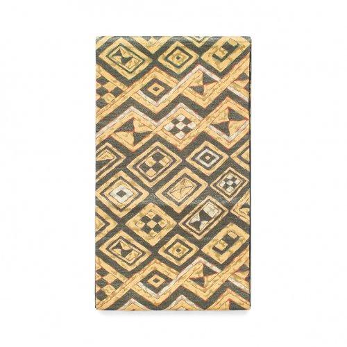 袋帯●金の菱に市松のサムネイル画像
