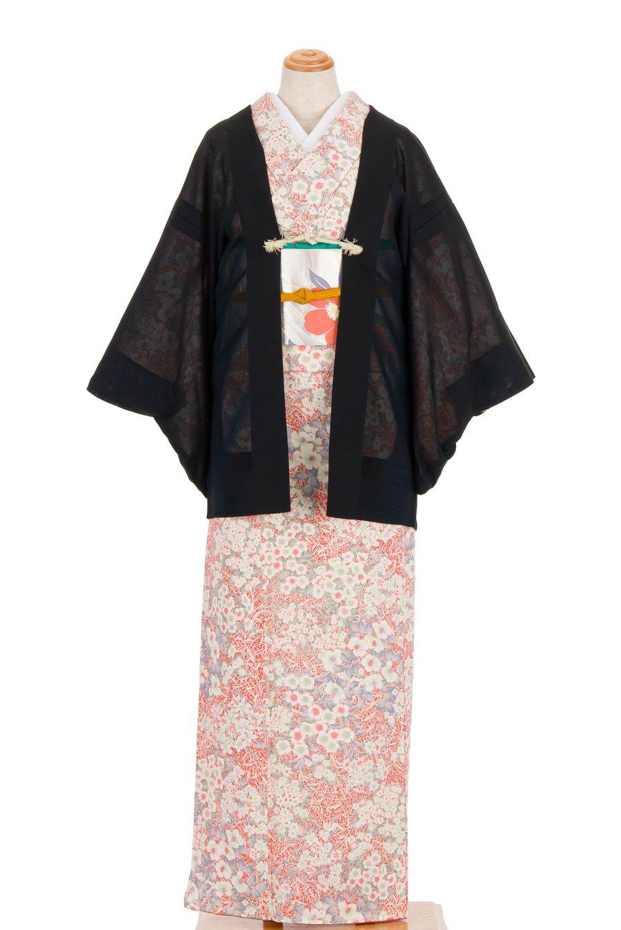 「紗 絵羽織 ヒトデみたいな花」の商品画像
