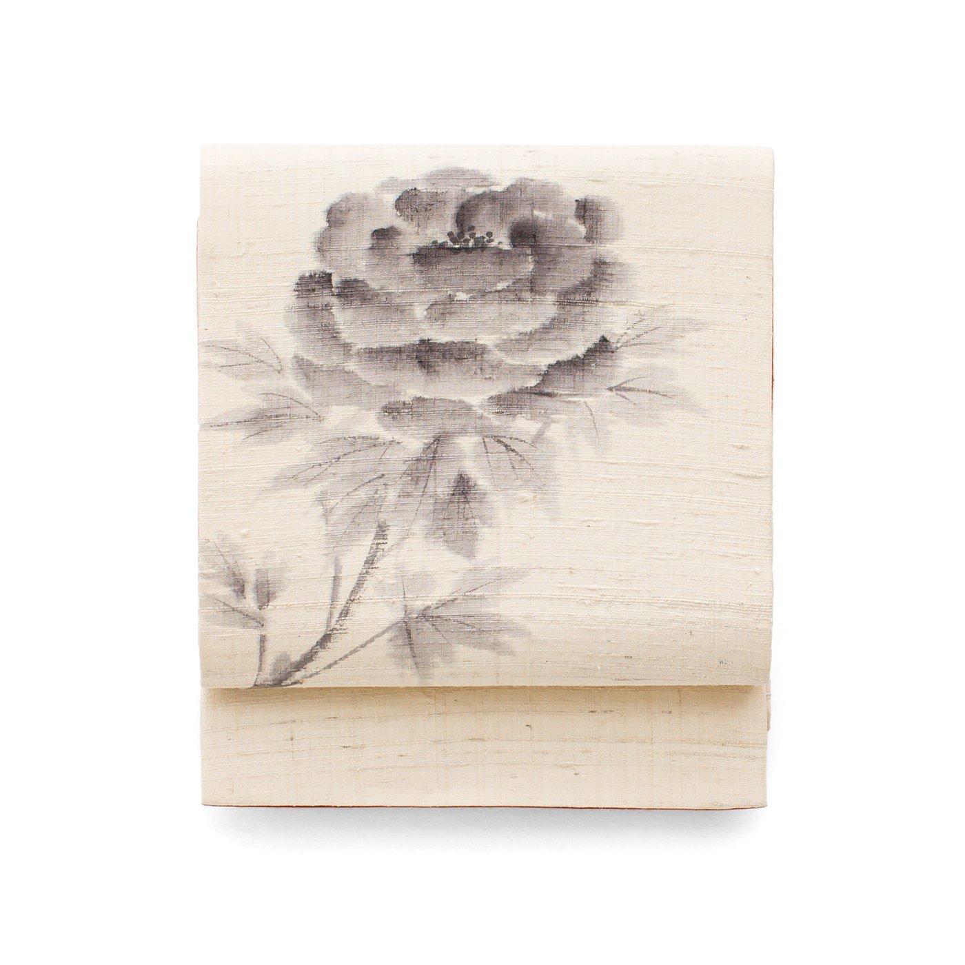 「京袋帯 手描き 牡丹 」の商品画像