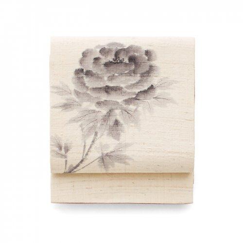 京袋帯 手描き 牡丹 のサムネイル画像