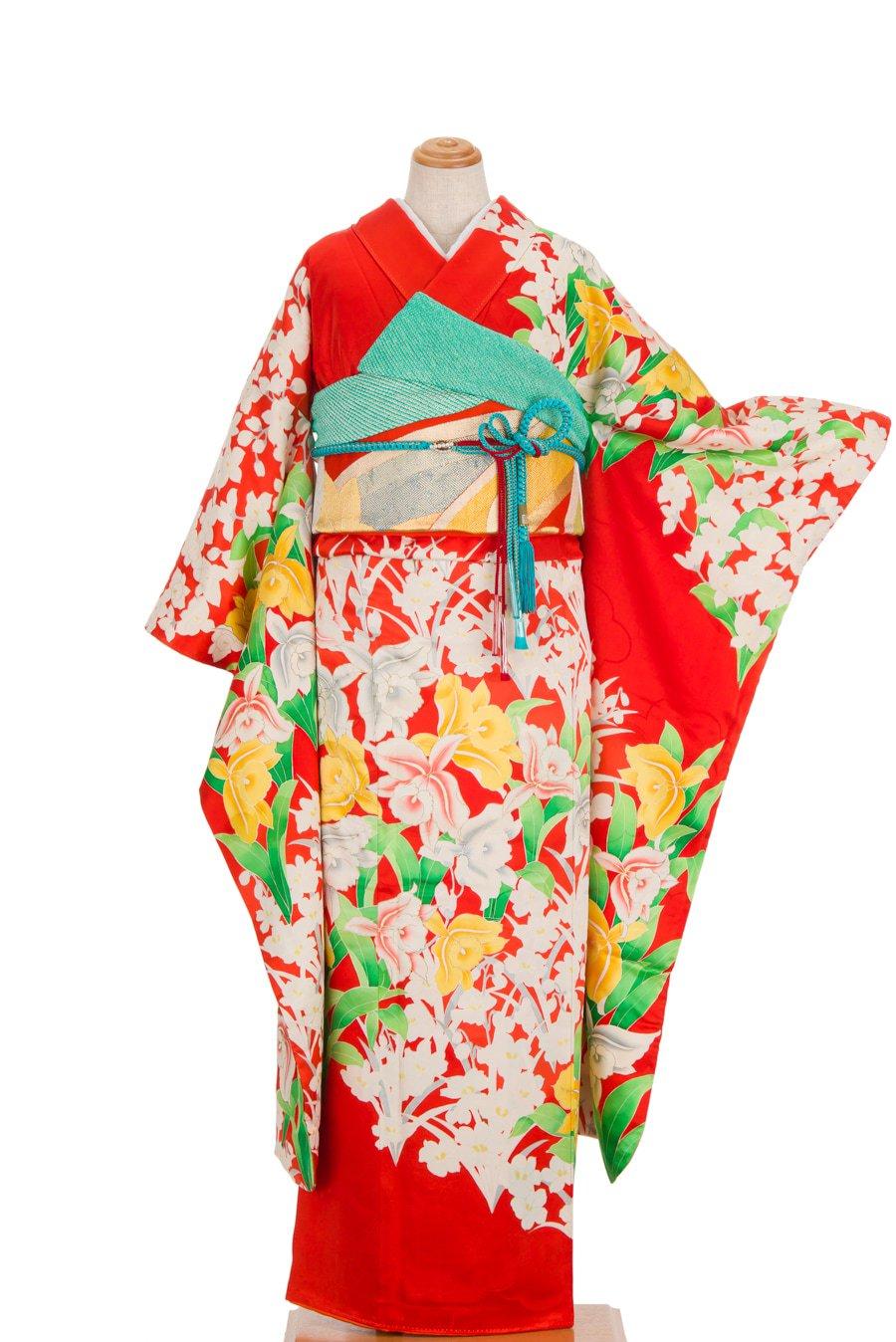 「振袖 洋花 蘭」の商品画像