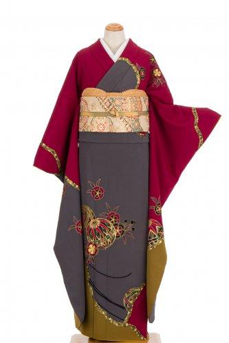振袖 鞠と桜 裄長のサムネイル画像