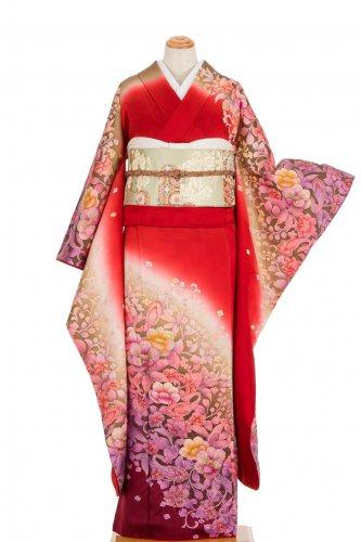 振袖 霞と花のサムネイル画像