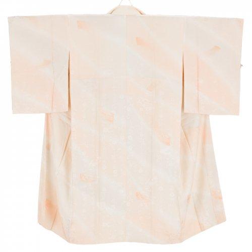 長襦袢 扇面に御所車 枝垂れ桜のサムネイル画像
